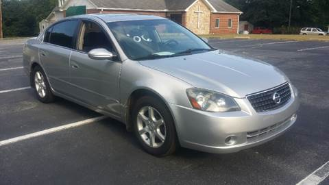 2006 Nissan Altima for sale at Happy Days Auto Sales in Piedmont SC