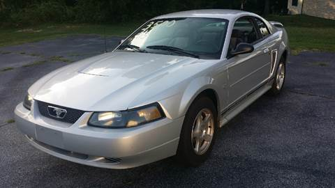 2003 Ford Mustang for sale at Happy Days Auto Sales in Piedmont SC