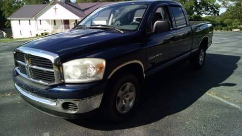 2007 Dodge Ram Pickup 1500 for sale at Happy Days Auto Sales in Piedmont SC