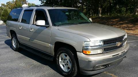 2005 Chevrolet Suburban for sale at Happy Days Auto Sales in Piedmont SC