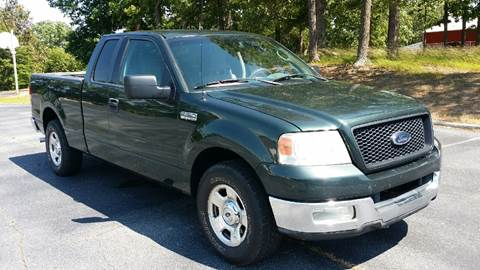 2004 Ford F-150 for sale at Happy Days Auto Sales in Piedmont SC