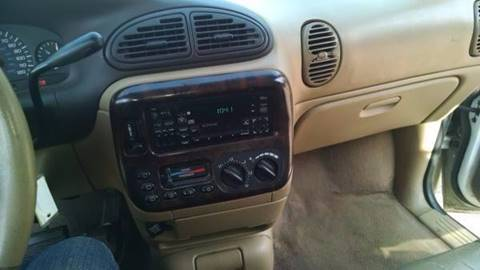 1999 Chrysler Town and Country for sale at Happy Days Auto Sales in Piedmont SC