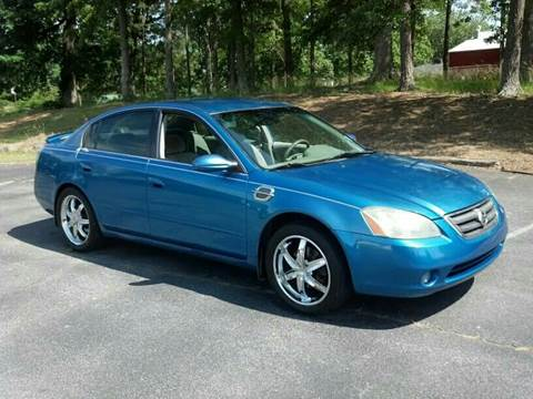 2003 Nissan Altima for sale at Happy Days Auto Sales in Piedmont SC