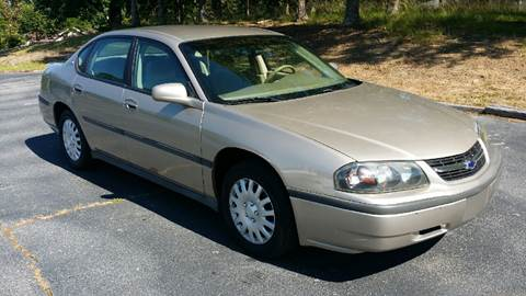 2001 Chevrolet Impala for sale at Happy Days Auto Sales in Piedmont SC