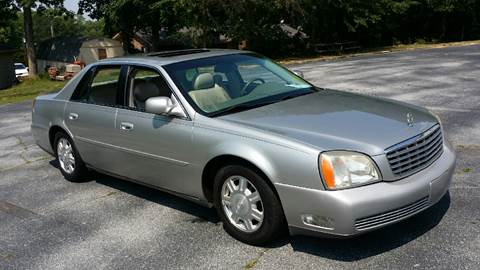 2005 Cadillac DeVille for sale at Happy Days Auto Sales in Piedmont SC