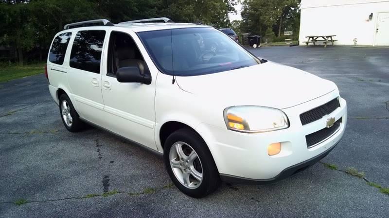 2005 Chevrolet Uplander for sale at Happy Days Auto Sales in Piedmont SC