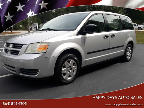 2008 Dodge Grand Caravan for sale at Happy Days Auto Sales in Piedmont SC