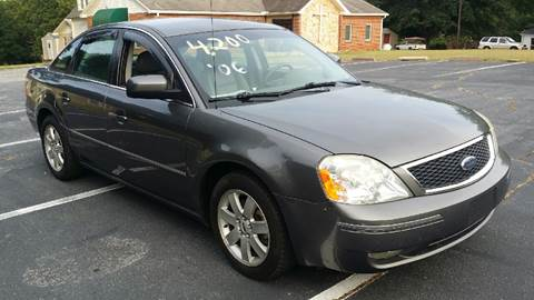 2006 Ford Five Hundred for sale at Happy Days Auto Sales in Piedmont SC