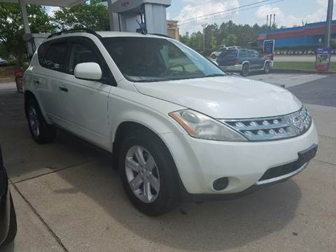 2007 Nissan Murano for sale at Happy Days Auto Sales in Piedmont SC