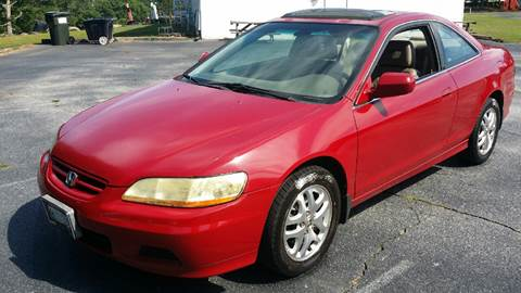 2001 Honda Accord for sale at Happy Days Auto Sales in Piedmont SC