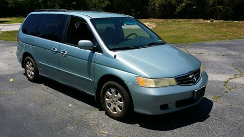 2004 Honda Odyssey for sale at Happy Days Auto Sales in Piedmont SC