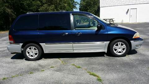 2001 Ford Windstar for sale at Happy Days Auto Sales in Piedmont SC