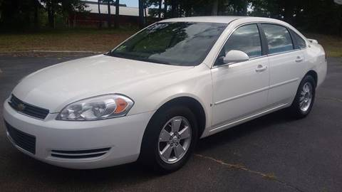 2008 Chevrolet Impala for sale at Happy Days Auto Sales in Piedmont SC