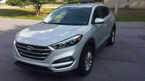2017 Hyundai Tucson for sale at Happy Days Auto Sales in Piedmont SC