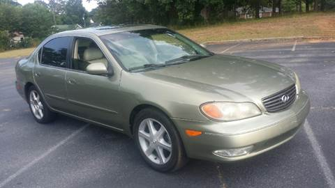2002 Infiniti I35 for sale at Happy Days Auto Sales in Piedmont SC