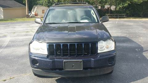 2006 Jeep Grand Cherokee for sale at Happy Days Auto Sales in Piedmont SC