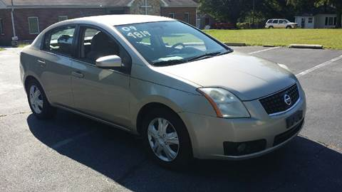 2009 Nissan Sentra for sale at Happy Days Auto Sales in Piedmont SC