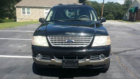 2002 Ford Explorer for sale at Happy Days Auto Sales in Piedmont SC