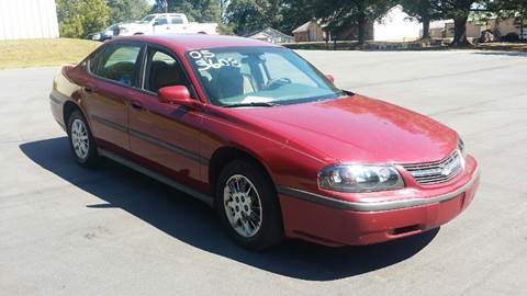 2005 Chevrolet Impala for sale at Happy Days Auto Sales in Piedmont SC