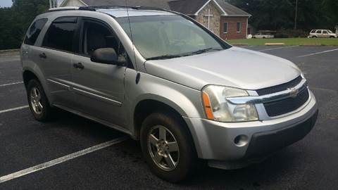 2005 Chevrolet Equinox for sale at Happy Days Auto Sales in Piedmont SC
