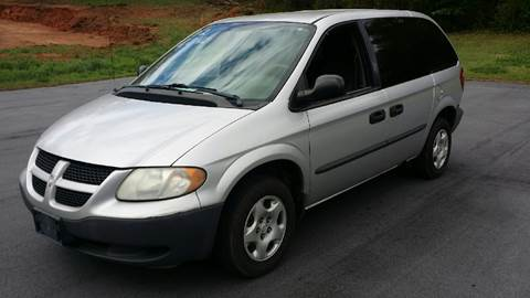 2002 Dodge Caravan for sale at Happy Days Auto Sales in Piedmont SC