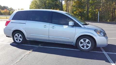 2008 Nissan Quest for sale at Happy Days Auto Sales in Piedmont SC