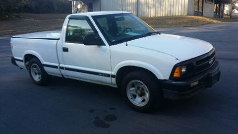 1994 Chevrolet S-10 for sale at Happy Days Auto Sales in Piedmont SC