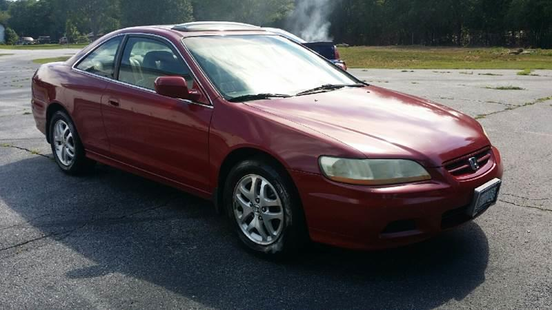 High Quality 2001 Honda Accord EX V6 2dr Coupe   Piedmont SC