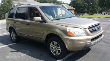 2004 Honda Pilot for sale at Happy Days Auto Sales in Piedmont SC