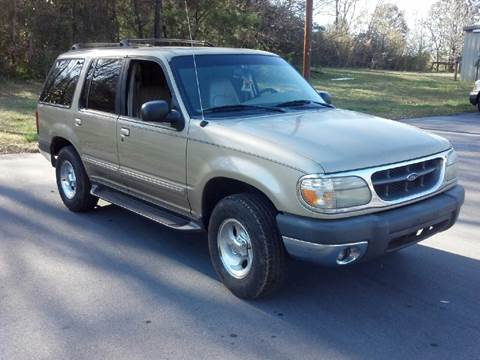 1999 Ford Explorer for sale at Happy Days Auto Sales in Piedmont SC