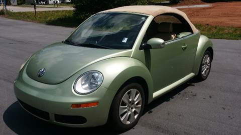2008 Volkswagen New Beetle for sale at Happy Days Auto Sales in Piedmont SC