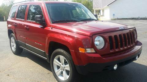 2012 Jeep Patriot for sale at Happy Days Auto Sales in Piedmont SC