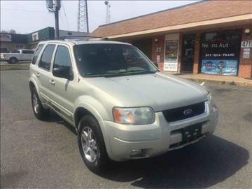 2004 Ford Escape for sale in Fredericksburg, VA