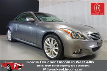2014 Infiniti Q60 Convertible for sale in West Allis, WI