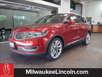 2017 Lincoln MKX for sale in West Allis, WI