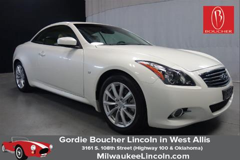 2015 Infiniti Q60 Convertible for sale in West Allis, WI