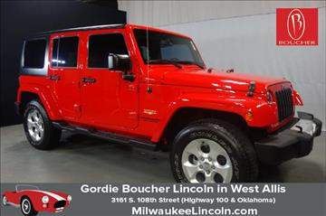 2015 Jeep Wrangler Unlimited for sale in West Allis, WI
