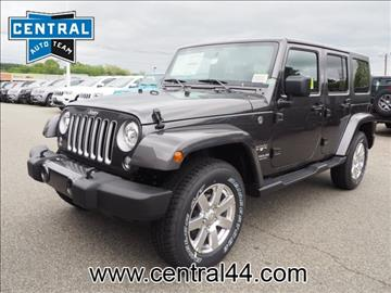 2017 Jeep Wrangler Unlimited for sale in Raynham Center, MA