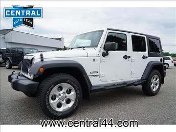 2013 Jeep Wrangler Unlimited for sale in Raynham Center, MA