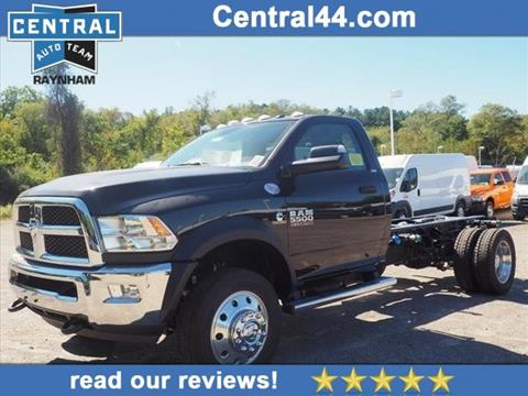 2018 RAM Ram Chassis 5500 for sale in Raynham Center, MA