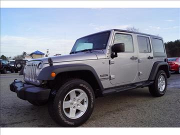 2014 Jeep Wrangler Unlimited for sale in Raynham Center, MA