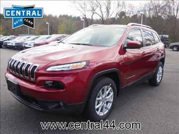 2017 Jeep Cherokee for sale in Raynham Center, MA