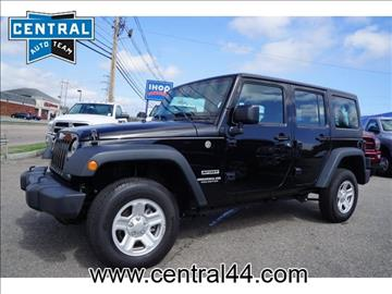 2016 Jeep Wrangler Unlimited for sale in Raynham Center, MA