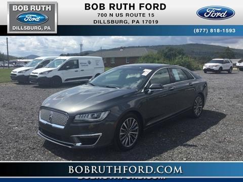 2017 Lincoln MKZ & BOB RUTH FORD - Used Cars - Dillsburg PA Dealer markmcfarlin.com