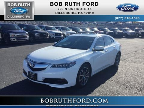 2015 Acura TLX for sale in Dillsburg, PA