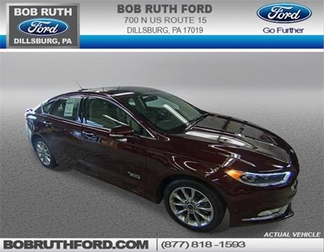 2017 Ford Fusion Energi for sale in Dillsburg, PA