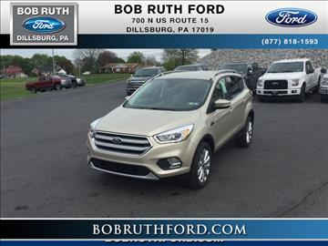 2017 Ford Escape for sale in Dillsburg, PA