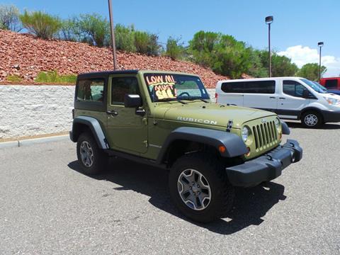 2013 Jeep Wrangler for sale in Cottonwood, AZ