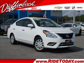 2016 Nissan Versa for sale in Rockingham, NC