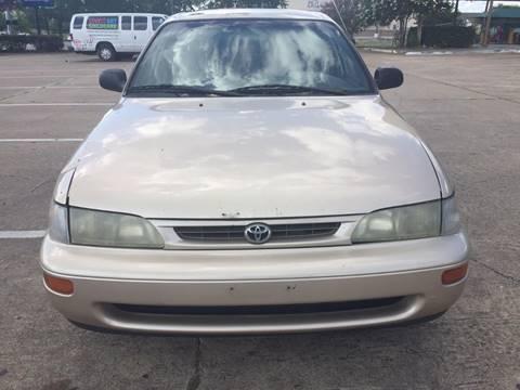 1997 Toyota Corolla for sale in Houston, TX